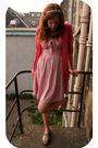 Pink-h-m-dress