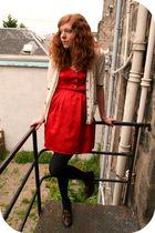 red Reko dress