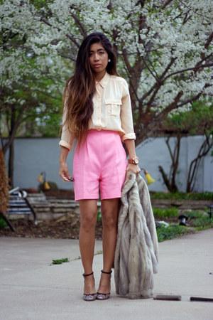 pleated shorts caroline hayden shorts