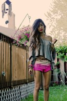 ombre H&M shorts - grey Urban Outfitters t-shirt