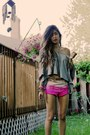 Ombre-h-m-shorts-grey-urban-outfitters-t-shirt