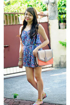 Charles and Keith bag - Jay Jays romper - south shore beach accessories