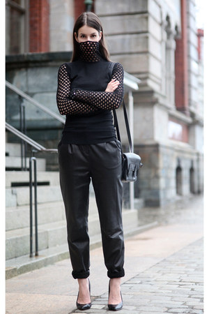 black alexander wnag sweater - black Malene Birger pants