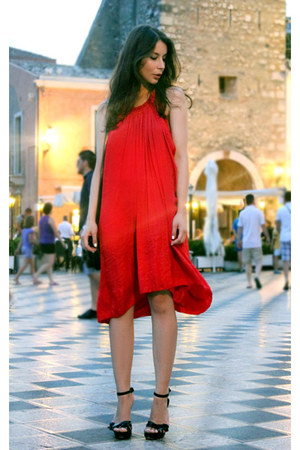 red Isabel Marant dress