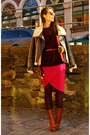 Hot-pink-by-malene-birger-skirt-tawny-alexander-wang-boots