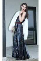 Kate Moss for Topshop dress - Alexander McQueen heels