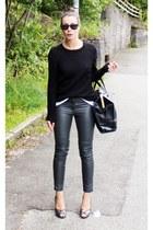 H&M pants - Malene Birger bag - Alexander McQueen heels
