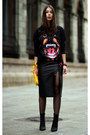 Black-givenchy-sweater-yellow-marc-by-marc-jacobs-bag