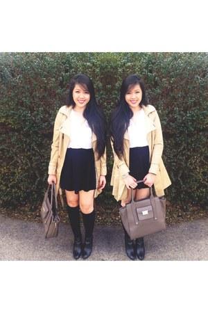 Target socks - Dolce Vita boots - H&M coat - Phillip Lim for Target bag