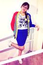 Yellow-nike-shoes-white-cotton-leopard-macys-shirt
