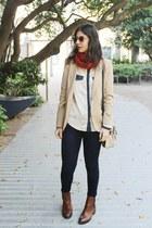 Zara boots - Zara blazer