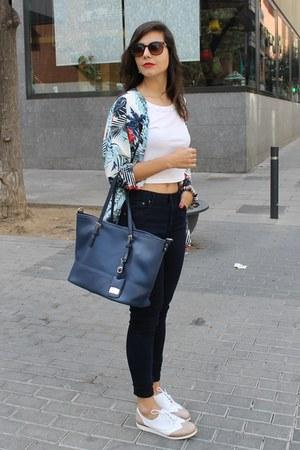 handmade jacket - Zara jeans