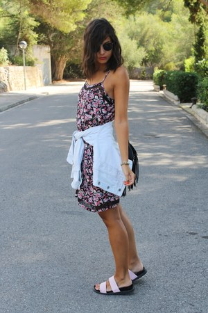 Promod dress - Zara sandals
