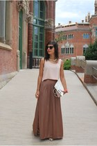 pull&bear skirt - Local store top - Born Pretty Store necklace