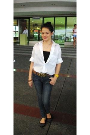 white white top