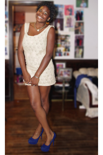 Ivory Lace Dress DIY