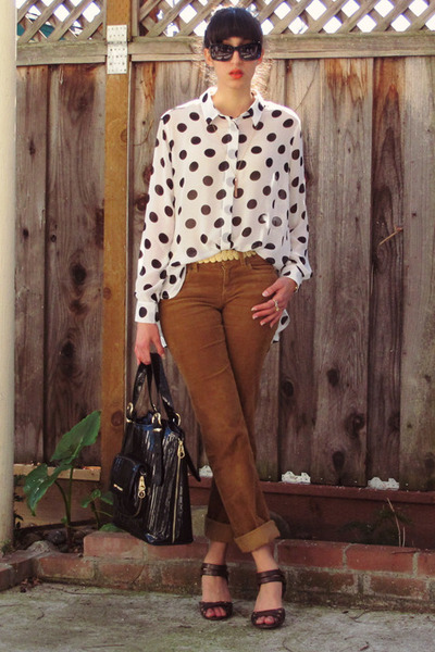 white MinkPink shirt
