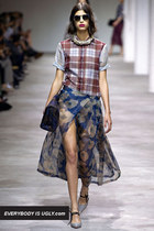 Steal This Grungy Chic Runway Style From Dries Van Noten Spring 2013