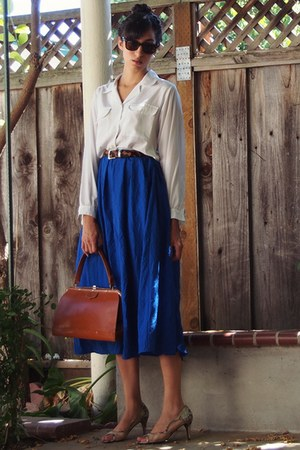 blue maxi skirt Gap skirt