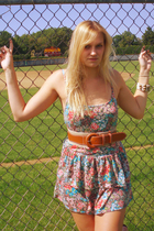 Urban Outfitters dress - Target belt - free people bracelet