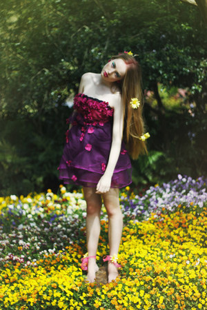 flower yellowcake dress