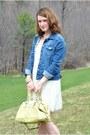 b9fe15843e ... Ivory-lace-target-dress-blue-jean-jacket-kohls-
