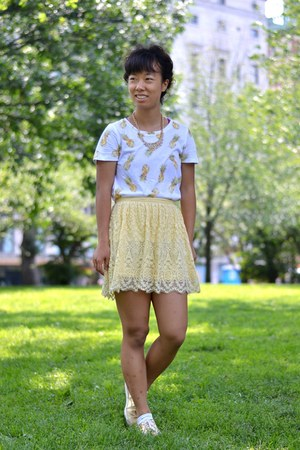 pineapple print kohls shirt