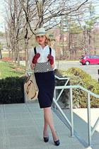 Vintage with DIY  applique bag - Victorias Secret shirt