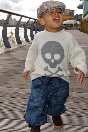 H&M - Gap sweater - H&M jeans - H&M hat - H&M boots