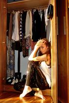 black sequin Topshop leggings