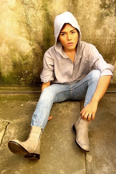 shirt - pants - boots