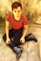 Zara shirt - Mossimo jeans - doc martens shoes