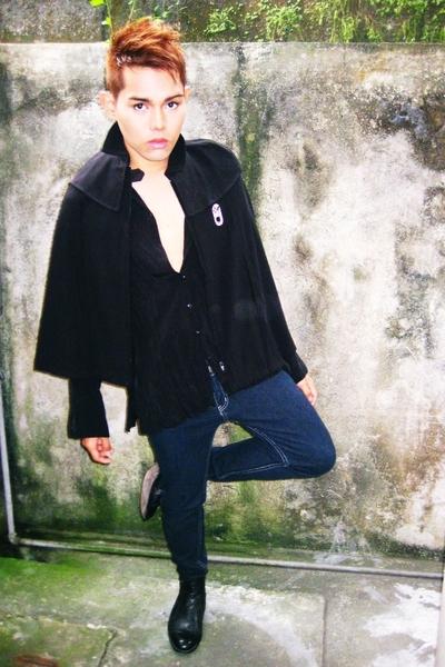 U2 coat - a  x shirt - bench pants - florsheim shoes