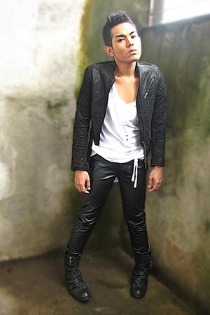 Miss Sixty jacket - Zara shirt - Terranova pants - Bianco boots