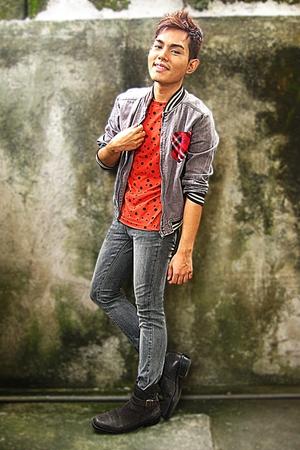solo shirt - jok hea jacket - april 77 jeans - kingston boots