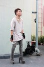 Soule-phenomenon-boots-zara-shirt-acne-pants