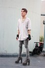 Soule-phenomenon-boots-zara-shirt-acne-pants