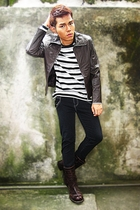 Diesel jeans - American Apparel shirt - Indu Homme pants - DSquared boots