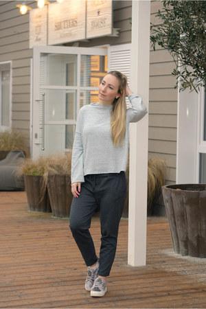 Zara sweater - jeans fritz pants - Deichmann sneakers