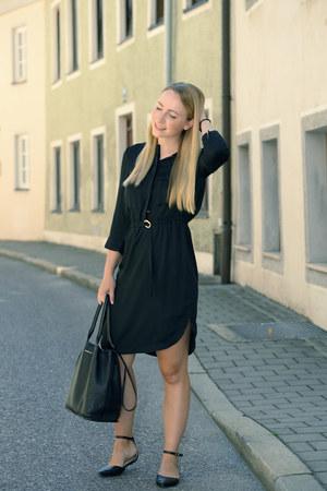 H&M dress - see by chloé bag