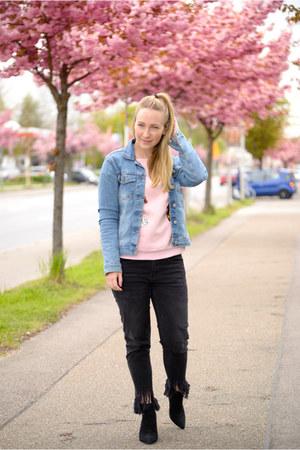 Zara jeans - AmiClubWear sweater