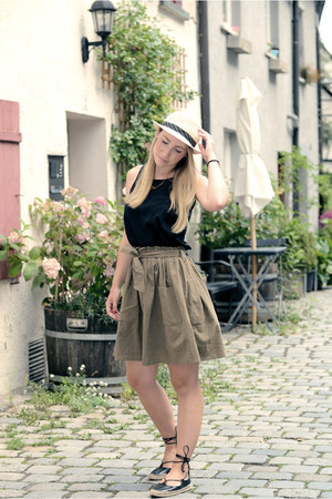 Zara shoes - romwe skirt - Primark top