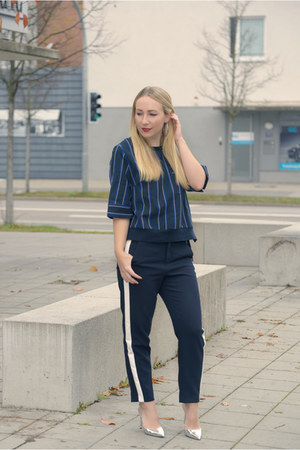 Rosegal top - Zara pants - asos heels