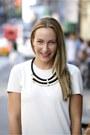 Cos-shirt-zara-shorts-primark-necklace-forever-21-flats