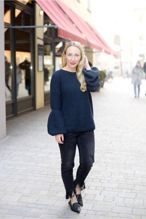 Vila sweater - Zara jeans - Zara flats