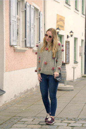 zaful sweater - Zara jeans - Zara sneakers