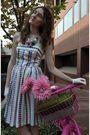 White-anthropologie-dress-white-vintage-gloves-blue-vintage-shoes-pink-ruc