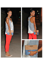 James Jeans jeans - B Brian Atwood shoes - Rebecca Minkoff bag - asos bracelet