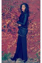 Jeffrey Campbell boots - Zara jacket - free people sweater - Alexander Wang bag