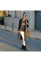 junk food clothing sweatshirt - Isabel Marant for H&M boots - rag & bone coat
